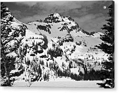 Grey Wolf Peak, Mission Mountains Acrylic Print
