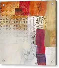 Grid 10 Acrylic Print by Jane Davies