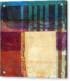 Grid Print 14 Acrylic Print by Jane Davies