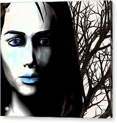 Grief And Depression, Conceptual Image Acrylic Print by Stephen Wood