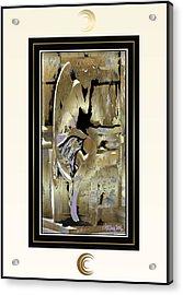 Grief Angel - Light Border Acrylic Print