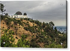 Acrylic Print featuring the photograph Griffith Park Observatory by Ed Clark