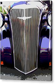 Grill Acrylic Print by Audrey Venute