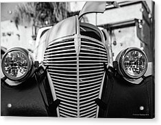 Acrylic Print featuring the photograph Grill by Lora Lee Chapman
