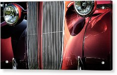 Acrylic Print featuring the photograph Willys Grill by Scott Kemper