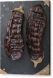 Grilled Aubergine Acrylic Print