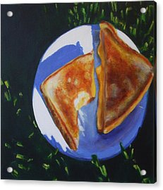 Grilled Cheese Please Acrylic Print by Sarah Vandenbusch