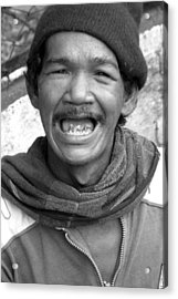 Grin And Bare It Acrylic Print by Jez C Self