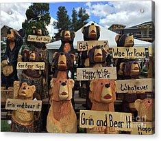 Grin And Bear It Acrylic Print