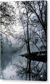 Grings Mill Fog 1043 Acrylic Print