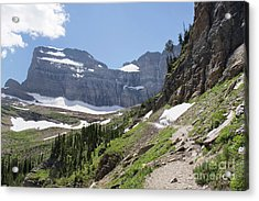 Grinnell Glacier Trail - Glacier National Park Acrylic Print