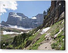 Grinnell Glacier Trail - Glacier National Park Acrylic Print