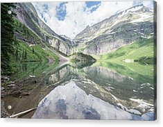 Grinnell Lake Mirrored Acrylic Print
