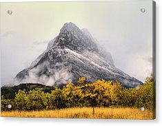 Grinnell Point Acrylic Print by Mark Kiver