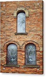 Grisaille Windows - First Congregational Church - Jackson - Michigan Acrylic Print