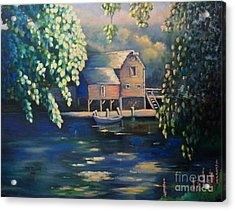 Grist Mill 2 Acrylic Print by Marlene Book