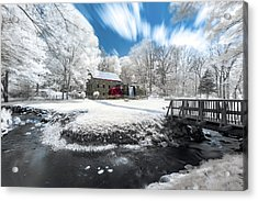 Grist Mill In Halespectrum Acrylic Print