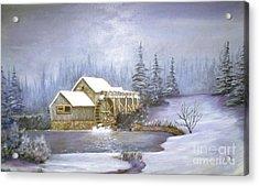 Grist Mill Acrylic Print