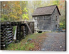 Grist Mill Acrylic Print by Lamarre Labadie