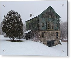 Grist Mill Of Port Hope Acrylic Print by Davandra Cribbie