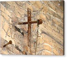 Gristmill Cross Two Acrylic Print by Ana Villaronga