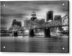 Gritty City Acrylic Print by Steven Ainsworth