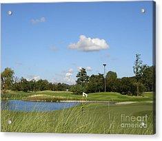 Groendael Golf The Netherlands Acrylic Print