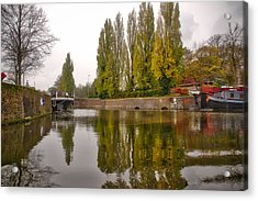 Groningen Canal Acrylic Print