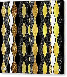 Groovy, Baby Modern Take On A Retro 1960s Design Acrylic Print by Tina Lavoie