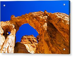 Grosvenor Arch Acrylic Print by Chad Dutson