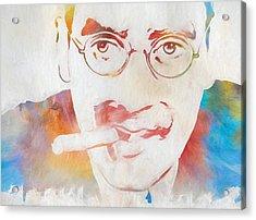 Groucho Marx Acrylic Print by Dan Sproul