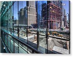Ground Zero From World Financial Center Acrylic Print by Robert Ullmann