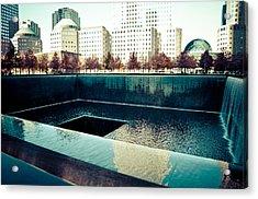 Ground Zero Memorial Acrylic Print