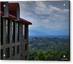 Grove Park Inn View Acrylic Print