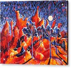 Grove Acrylic Print by Rollin Kocsis