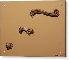 Growing Bone Acrylic Print