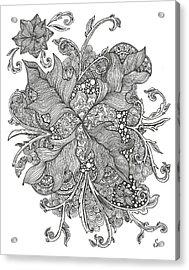Growing Vines Acrylic Print