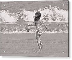 Growing Young Acrylic Print by JAMART Photography