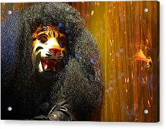 Grrr Acrylic Print by Jez C Self