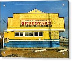 Grubstake Acrylic Print by Steven Ainsworth