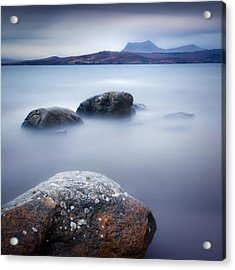 Gruinard Bay Acrylic Print by Dave Bowman