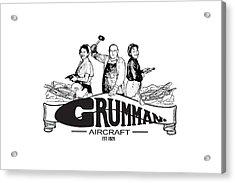 Grumman Aircraft Est 1929 Acrylic Print
