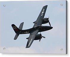 Grumman F7f-3n Tigercat Acrylic Print by Tommy Anderson