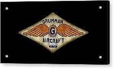 Grumman Wings Diamond Acrylic Print
