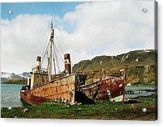 Grytviken Ghosts Acrylic Print
