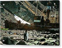 Grytviken Sentinel Acrylic Print