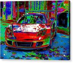 Gt Porsche Carrera Acrylic Print by Rogerio Mariani