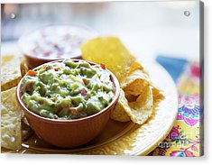 Guac And Chips Acrylic Print