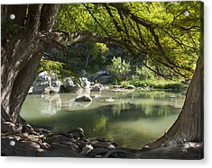 Guadalupe River Acrylic Print