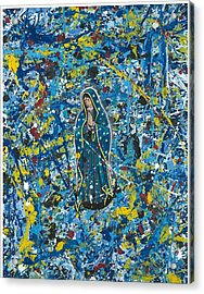 Guadalupe Visits Pollack Acrylic Print